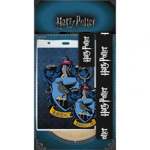 Harry Potter Lanyard & Keyring Set Ravenclaw