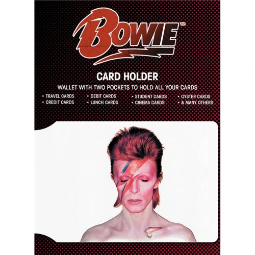 David Bowie Card Holder