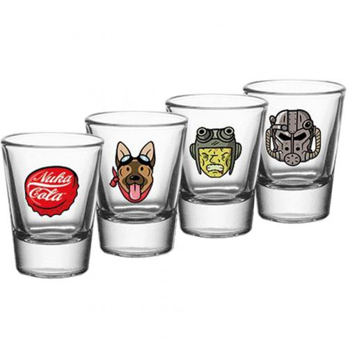 Fallout 4pk Shot Glass Set
