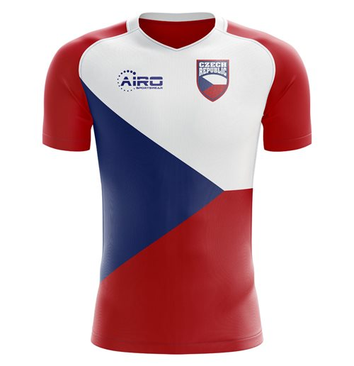 2018-2019 Czech Republic Home Concept Football Shirt (Kids)