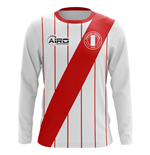 2018-2019 Peru Long Sleeve Home Concept Football Shirt