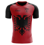 2018-2019 Albania Flag Concept Football Shirt