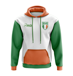 Ireland Concept Country Football Hoody (White)