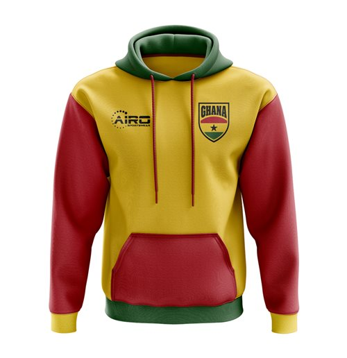 Ghana Concept Country Football Hoody (Yellow)