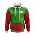 Wales Concept Country Football Hoody (Green)