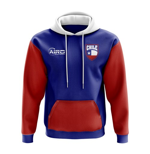 Chile Concept Country Football Hoody (Blue)