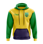 Brazil Concept Country Football Hoody (Yellow)