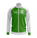 Sierra Leone Concept Football Track Jacket (Green)