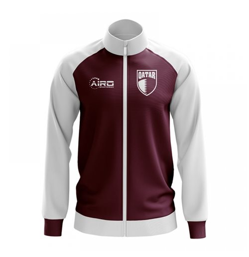 Qatar Concept Football Track Jacket (Burgunday)