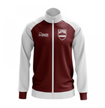 Latvia Concept Football Track Jacket (Red)