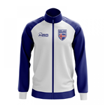 Iceland Concept Football Track Jacket (White)