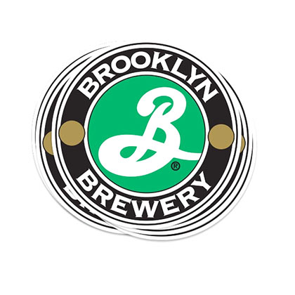 BROOKLYN BREWERY Logo Vinyl Sticker