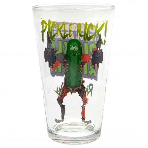 Rick And Morty Large Glass Pickle Rick