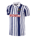 West Bromwich Albion 1992 - 93 Short Sleeve Retro Football Shirt