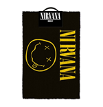 Nirvana Doormat Smiley 40 x 60 cm