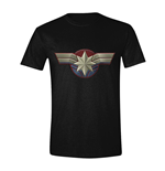 Captain Marvel T-Shirt Chest Emblem