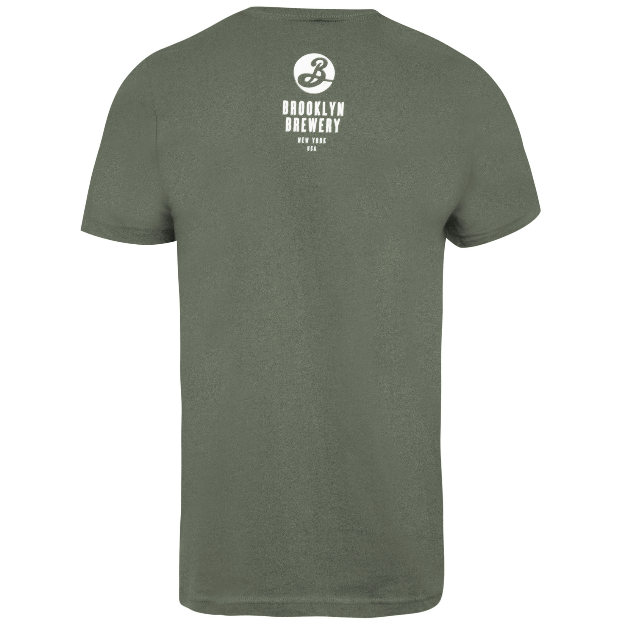 BROOKLYN BREWERY New York State Green Tee Shirt