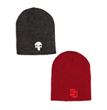 Marvel Reversible Beanie Daredevil/Punisher LC Exclusive