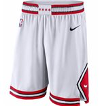 Men's Chicago Bulls Nike White Association Edition Swingman Shorts