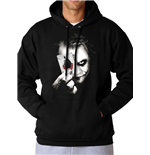 The Dark Knight Trilogy - Why So Serious - Unisex Hooded Sweatshirt Grey