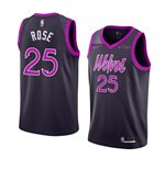 Men's Minnesota Timberwolves Derrick Rose Nike City Edition Swingman Jersey