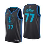 Men's Dallas Mavericks Luka Doncic Nike City Edition Swingman Jersey