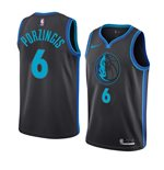Men's Dallas Mavericks Kristaps Porzingis Nike City Edition Swingman Jersey