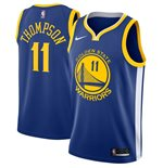 Men's Golden State Warriors Klay Thompson Nike Royal Icon Edition Swingman Jersey