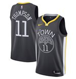 Men's Golden State Warriors Klay Thompson Nike Black Statement Edition Swingman Jersey
