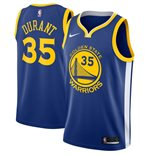 Men's Golden State Warriors Kevin Durant Nike Royal Icon Edition Swingman Jersey