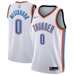 Men's Oklahoma City Thunder Russell Westbrook Nike White Association Edition Swingman Jersey