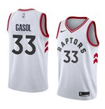 Men's Toronto Raptors Marc Gasol Nike White Association Edition Swingman Jersey