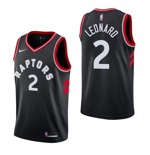 new concept 736ba 76bfd Men's Toronto Raptors Kawhi Leonard Nike Black Statement Edition Swingman  Jersey