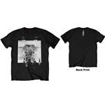 Slipknot Men's Tee: Devil Single - Black & White (Back Print)