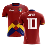 2018-2019 Colombia Home Concept Football Shirt (James 10) - Kids