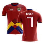 2018-2019 Colombia Home Concept Football Shirt (Bacca 7)