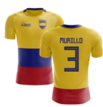 2018-2019 Colombia Flag Concept Football Shirt (Murillo 3)