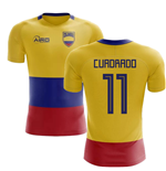 2018-2019 Colombia Flag Concept Football Shirt (Cuadrado 11)