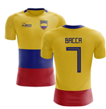 2018-2019 Colombia Flag Concept Football Shirt (Bacca 7)