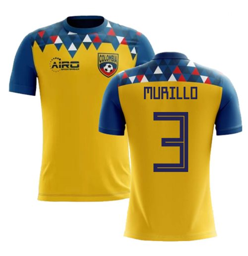 2018-2019 Colombia Concept Football Shirt (Murillo 3)