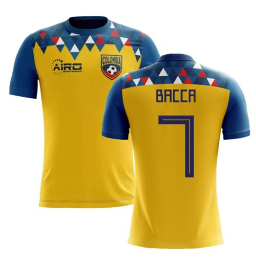 2018-2019 Colombia Concept Football Shirt (Bacca 7)