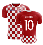 2018-2019 Croatia Flag Concept Football Shirt (Modric 10)