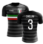 2018-2019 Italy Third Concept Football Shirt (Chiellini 3) - Kids