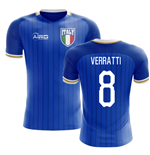 2018-2019 Italy Home Concept Football Shirt (Verratti 8)