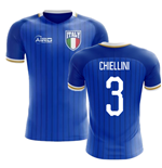 2018-2019 Italy Home Concept Football Shirt (Chiellini 3) - Kids