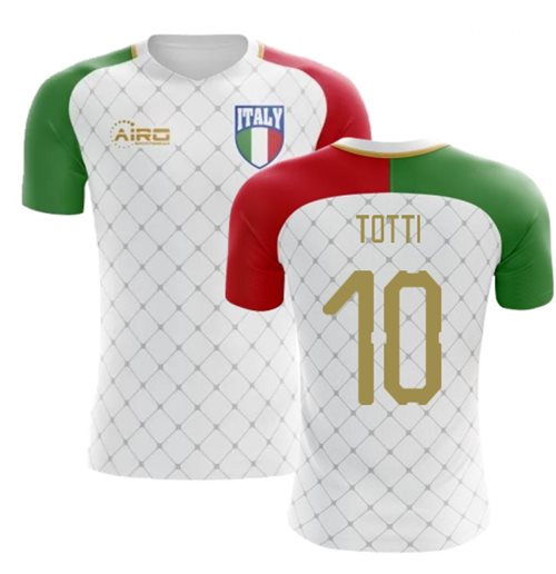 2018-2019 Italy Away Concept Football Shirt (Totti 10) - Kids
