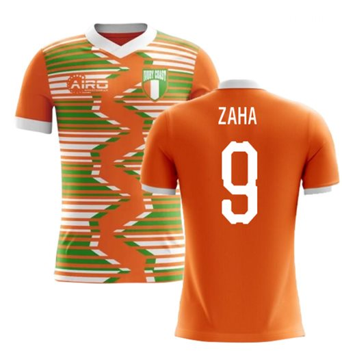 2018-2019 Ivory Coast Home Concept Football Shirt (Zaha 9)