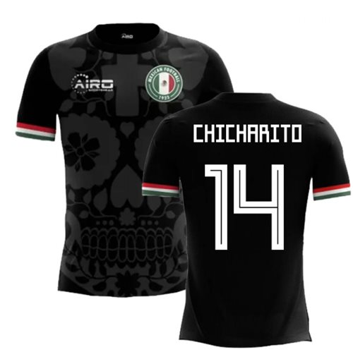 2018-2019 Mexico Third Concept Football Shirt (Chicharito 14) - Kids