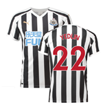 2018-2019 Newcastle Home Football Shirt (Yedlin 22)
