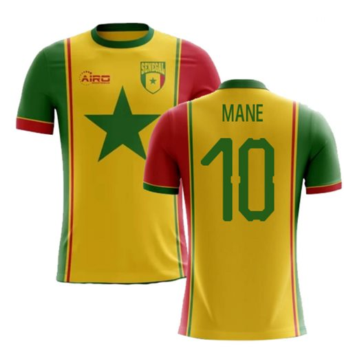 c87df1028a4 Buy Official 2018-2019 Senegal Third Concept Football Shirt (Mane 10)